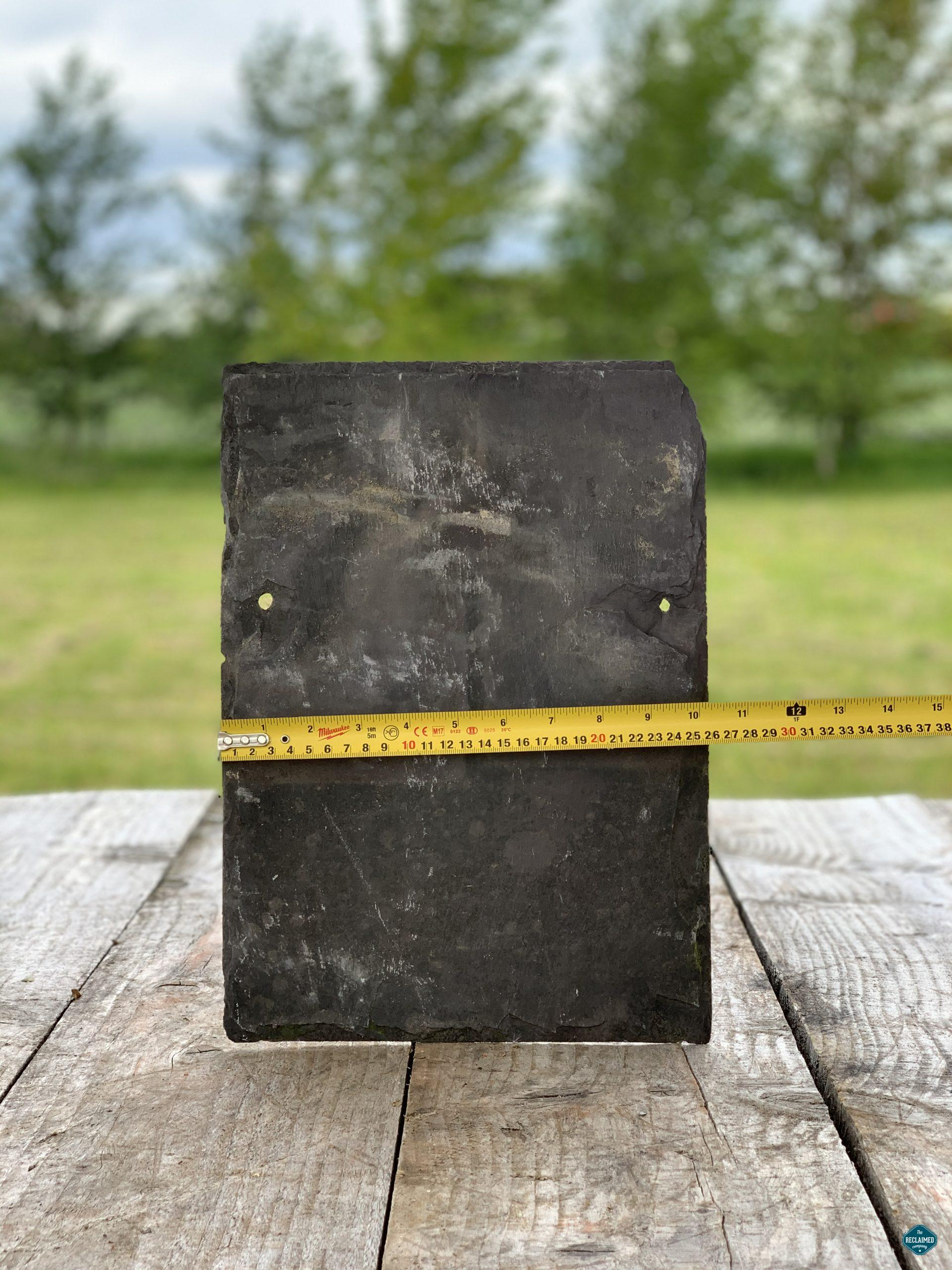 """Reclaimed Welsh Slate Roof Tiles 14/"""" x 12/""""£0.75 VAT Collected Price"""
